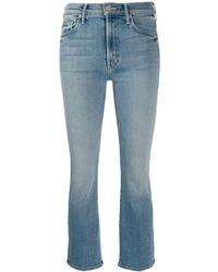 Mother Jeans crop - Blu