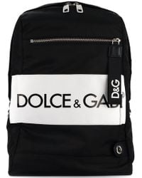 Dolce & Gabbana - Convertible Strap Backpack - Lyst