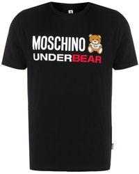 Moschino - スローガン Tシャツ - Lyst