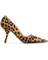 Prada - Pumps mit Leoparden-Print - Lyst