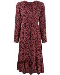Rails Jade ドローストリング ドレス - レッド