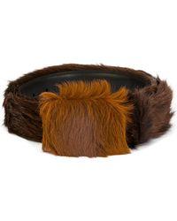 Prada - Textured Belt - Lyst