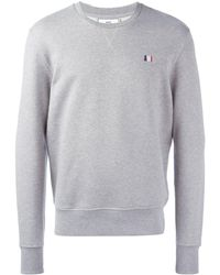 AMI Small Ami Sweatshirt - Gray