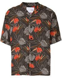 Yoshio Kubo 'Aloha Camp' Hemd - Mehrfarbig