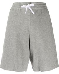 Theory Drawstring Waist Shorts - Grey