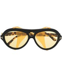 Tom Ford - Neughman Round-frame Sunglasses - Lyst