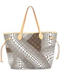 Louis Vuitton - Bolso shopper Neverfull MM pre-owned - Lyst