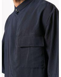 3.1 Phillip Lim Oversized-Hemd - Blau