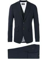 DSquared² London Three-piece Suit - Blue
