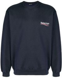 Balenciaga - Sweatshirt mit Logo - Lyst