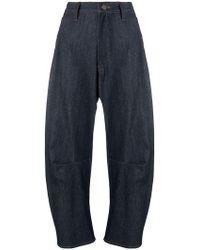 Y's Yohji Yamamoto - Cropped Jeans - Lyst