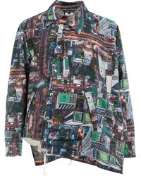 Comme des Garçons - Birds Eye Cityscape Print Jacket - Lyst