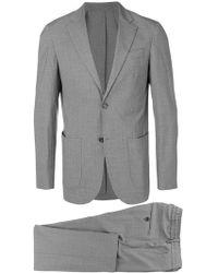 Eleventy - Striped Two-piece Suit - Lyst