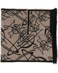 Vivienne Westwood ロゴ スカーフ - マルチカラー
