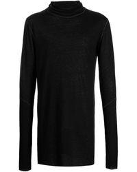 Army Of Me Fine-knit Rollneck Jumper - Black