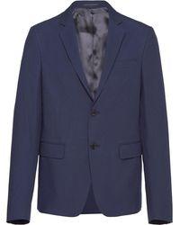 Prada シングルジャケット - ブルー
