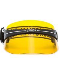 Dior Кепка-козырек 'diorclub1' - Желтый