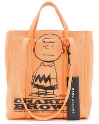 Marc Jacobs Charlie Brown ショッパーバッグ - オレンジ
