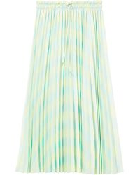 PROENZA SCHOULER WHITE LABEL プリーツスカート - グリーン