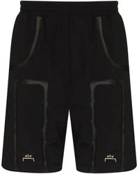 A_COLD_WALL* * Tapered Track Shorts - Black