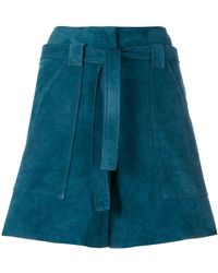 Vanessa Seward - Belted Shorts - Lyst