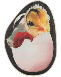 Undercover - Chicken Print Purse - Lyst