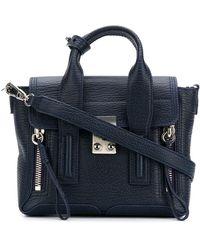 3.1 Phillip Lim Mini Pashli Shoulder Bag - Blue