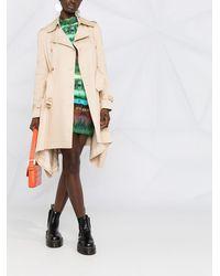 Moschino Двубортное Пальто Асимметричного Кроя - Естественный