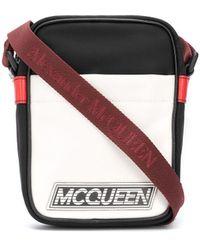Alexander McQueen - ロゴ メッセンジャーバッグ - Lyst