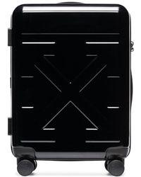 Off-White c/o Virgil Abloh Tonal Logo Suitcase - Black
