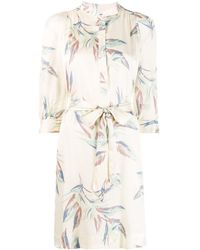 Zadig & Voltaire - Robe mi-longue Paradise - Lyst