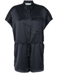 Off-White c/o Virgil Abloh - Buttoned Playsuit - Lyst