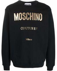 Moschino - Толстовка С Аппликацией Логотипа - Lyst