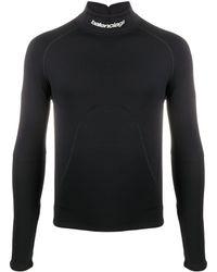 Balenciaga Водолазка С Логотипом - Черный