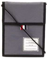 Thom Browne 4-bar Neck Pouch - Multicolor