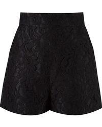 Martha Medeiros - High-waisted Lace Shorts - Lyst
