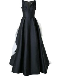 Isabel Sanchis Dramatic Ball Gown - Black