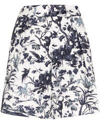 Erdem Frida Shorts - Blue