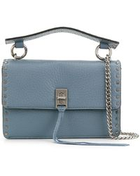 Rebecca Minkoff - Twist Lock Crossbody Bag - Lyst
