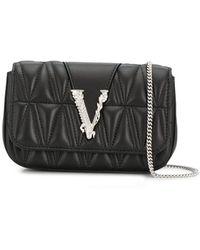 Versace Virtus ミニバッグ - ブラック