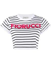 Fiorucci クロップド Tシャツ - ホワイト