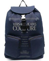 Versace Jeans Couture Рюкзак С Логотипом - Синий