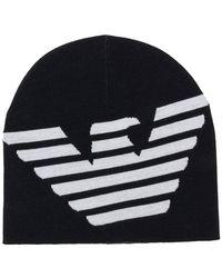 Emporio Armani - Шапка Бини С Логотипом - Lyst