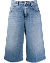 Closed Denim Shorts - Blauw