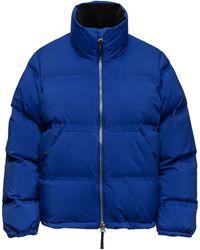 Aztech Mountain Panda Puffer Jacket - Blue