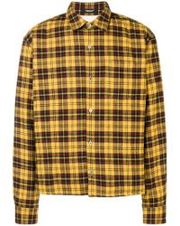 Undercover - Plaid Shirt Jacket - Lyst