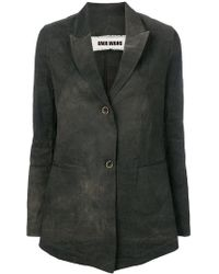 Uma Wang - Casual Button Blazer - Lyst