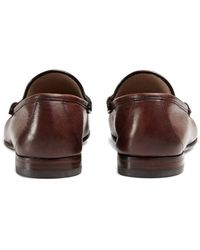 Gucci Easy Roos Loafers - Brown