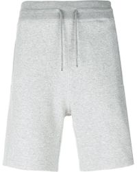 Moncler Gamme Bleu - Drawstring Soft Shorts - Lyst