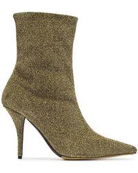 Tabitha Simmons - Metallic Eldon 95 Lurex Ankle Boots - Lyst